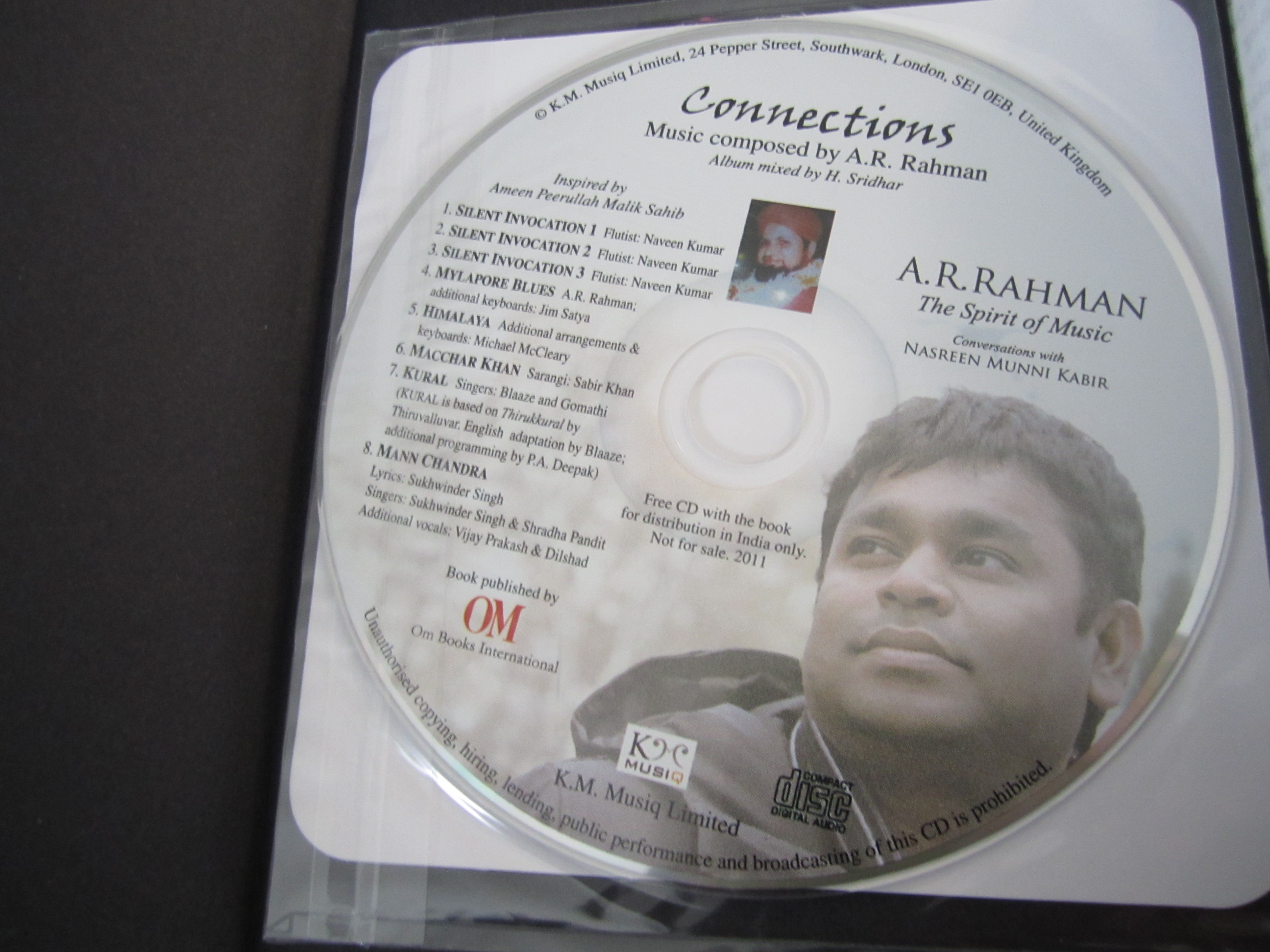 Ar Rahman The Spirit Of Music Book