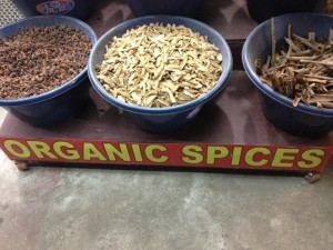 Organic Spices at Kumily