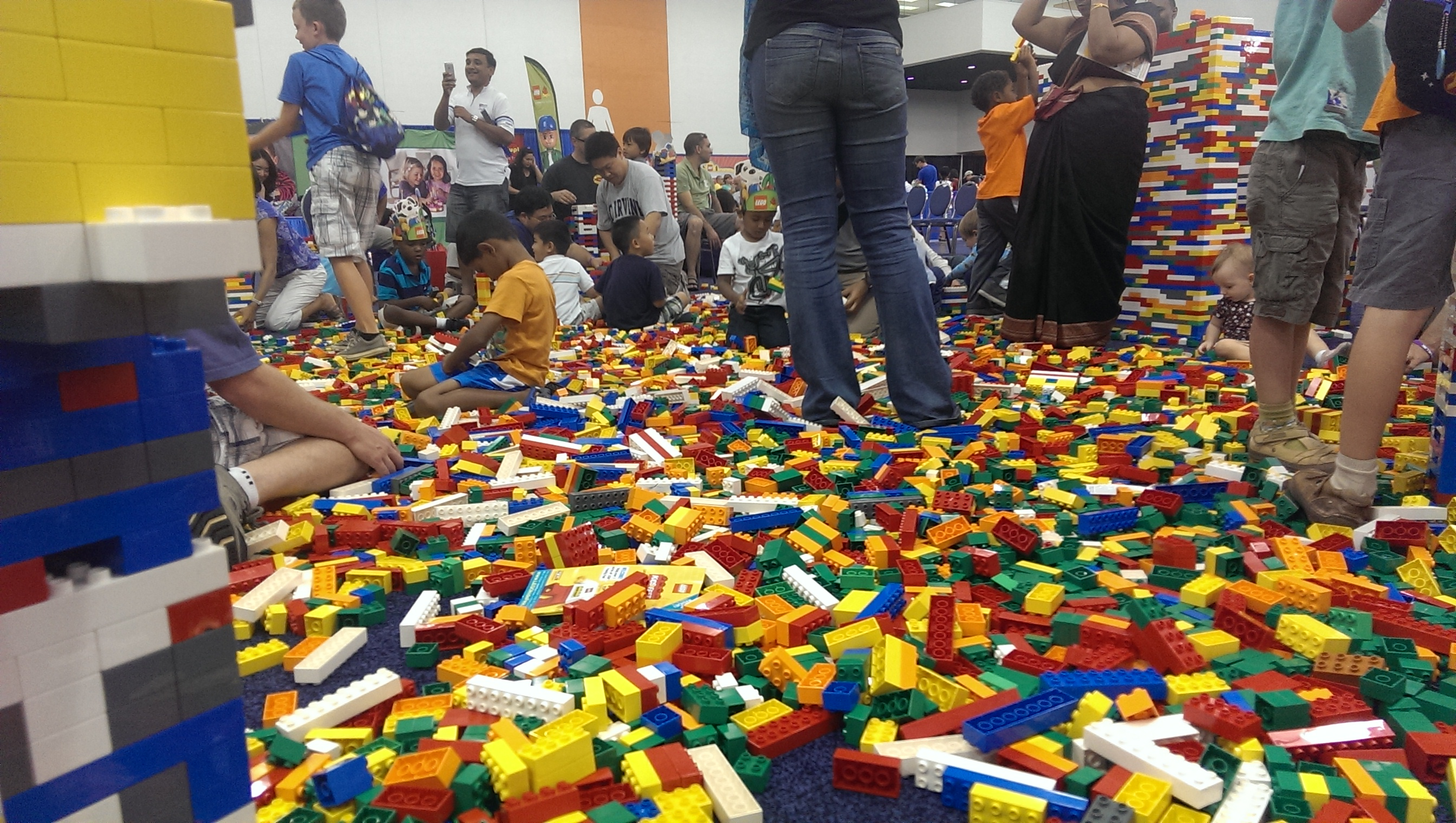 A trip to Lego Kids Fest in the Bay Area