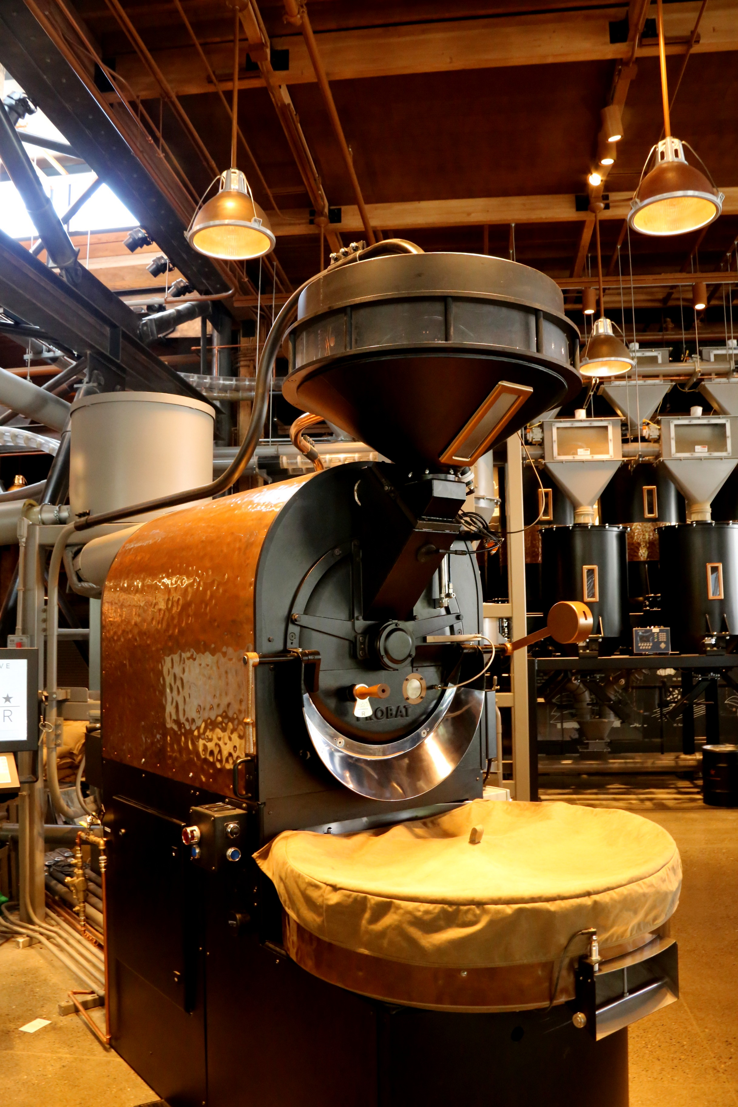 The Starbucks Reserve Roastery Experience