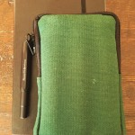 TWSBI medium notebook, Kaweco AL sport fountain pen and NockCo Sinclair pouch